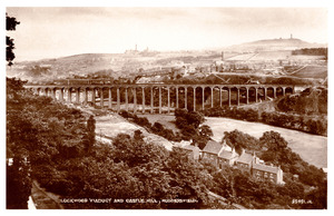 Lockwood Viaduct and Castle Hill, Huddersfield