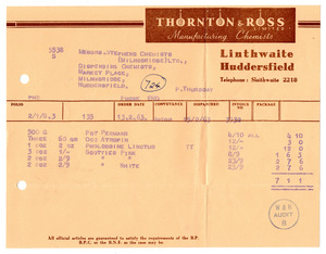 Thornton & Ross Ltd. of Linthwaite.