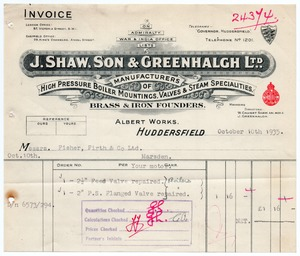 J. Shaw, Son & Greenhalgh Ltd.