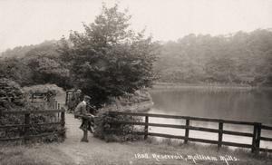 Meltham Mills near Huddersfield. Reservoir # 1808 in HHH Series.jpg
