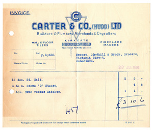 Carter & Co. Ltd. of Huddersfield.