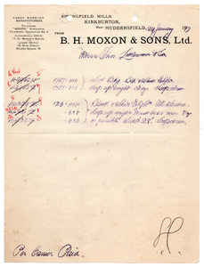 B.H. Moxon & Sons Ltd of Kirkburton.