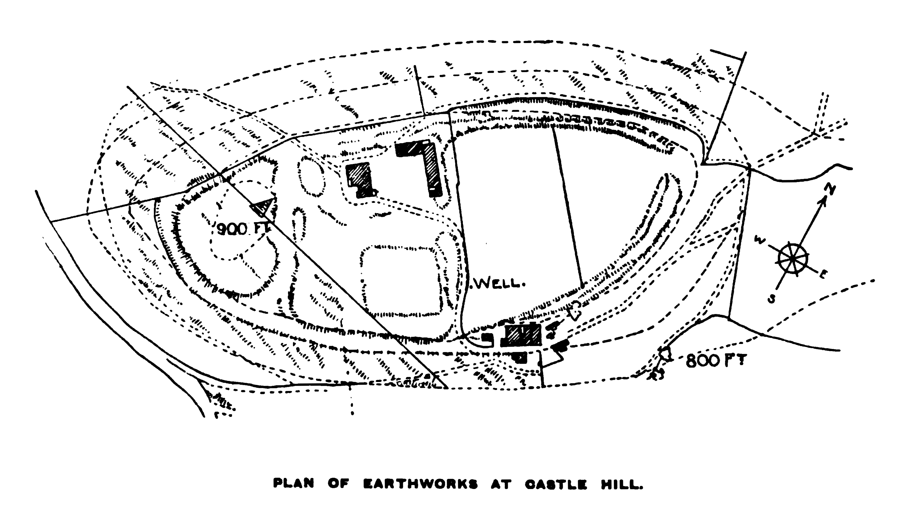 Yorkshire Archæological Journal (1901) - Castle Hill, Almondbury.png