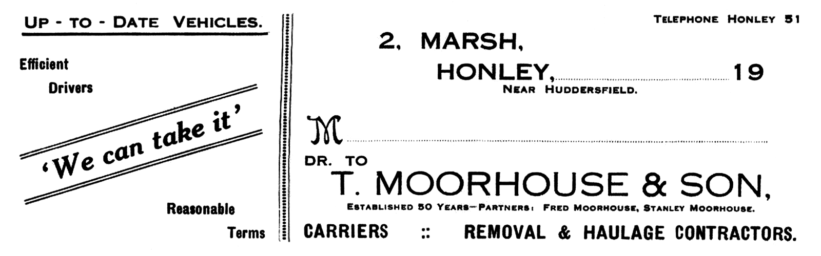Tom Moorhouse and Son Limited (1940s).png