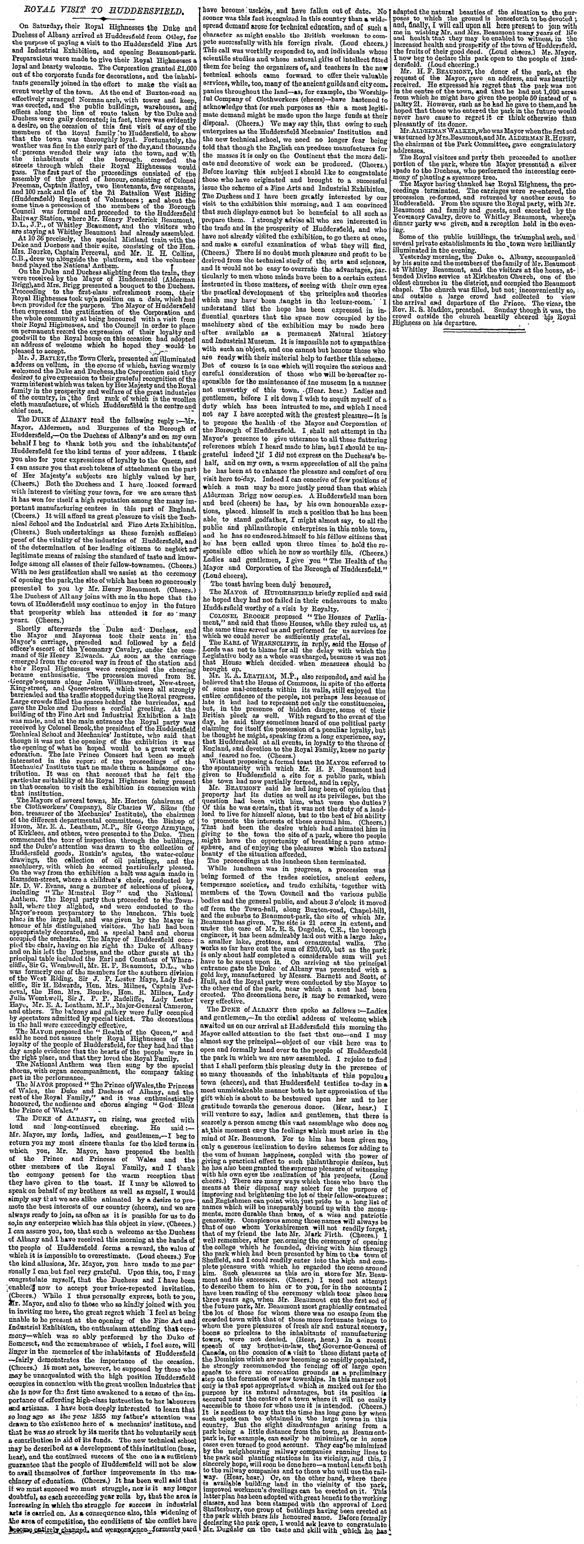 The-Times-15.Oct .1883-Royal-Visit-To-Huddersfield.png