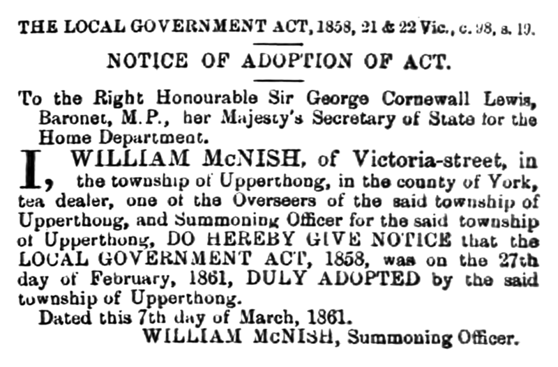 File:Upperthong - Huddersfield Chronicle 16 March 1861.png