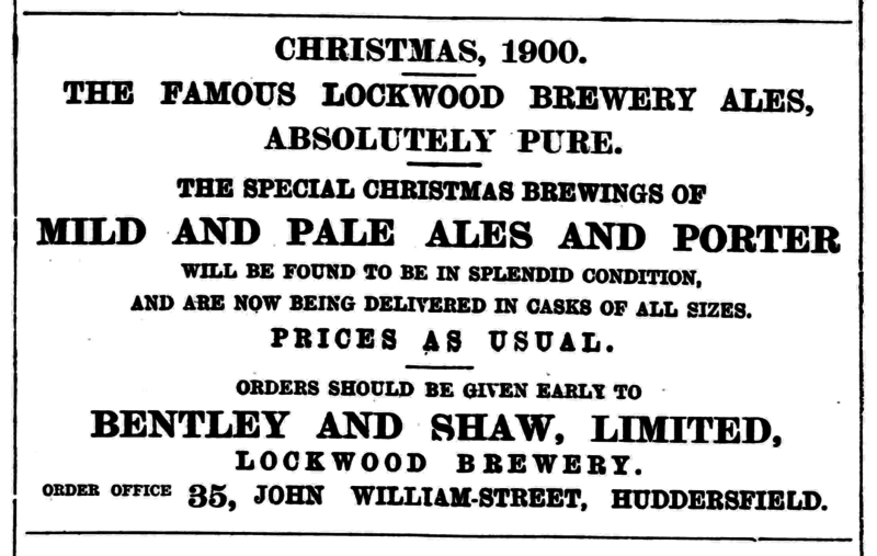 File:Huddersfield Daily Chronicle (21 Dec 1900) - Lockwood Brewery.png