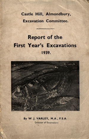 Castle Hill, Almondbury, Excavation Committee Report of the First Year's Excavations (1939) by W.J.jpg