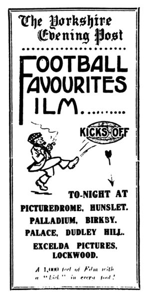 File:Yorkshire Post 27 February 1924 - Football Favourites Film.jpg