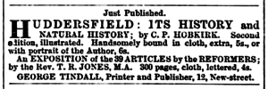 Huddersfield Chronicle 08 February 1868 Publications.png