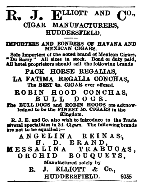 File:RJ Elliott 1899 newspaper advert.png