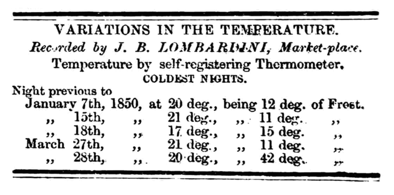 File:Variations in the Temperature - Huddersfield Chronicle 4 May 1850.png