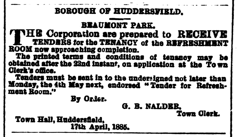File:Huddersfield Chronicle 18 April 1885 - Contacts (2).png
