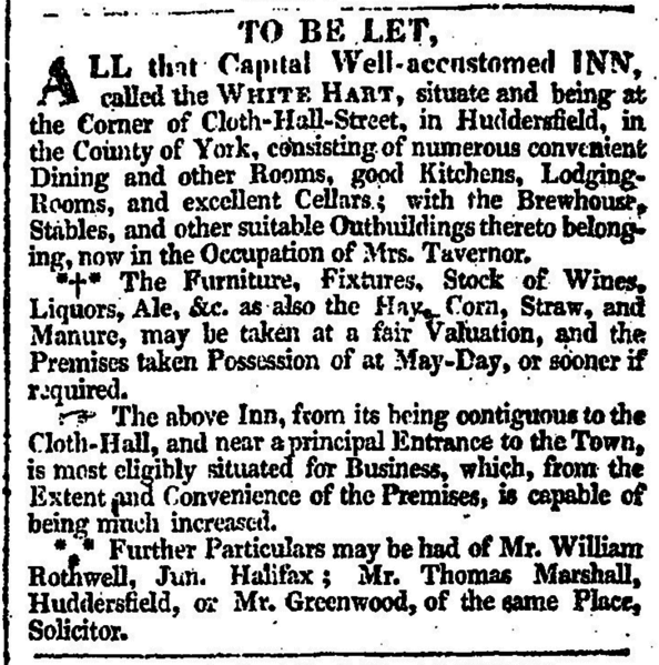 File:To Be Let - Leeds Mercury 31 December 1814.png