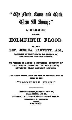 The Flood Came and Took Them All Away - Title Page.png