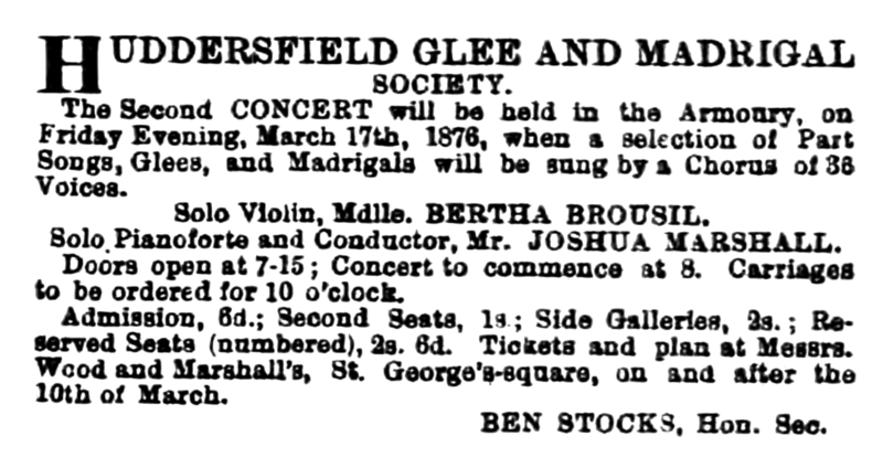 File:HGMS - Huddersfield Chronicle 04 March 1876.png
