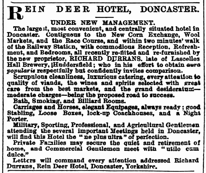 File:Richard Durrans - Huddersfield Chronicle 26 April 1873.png