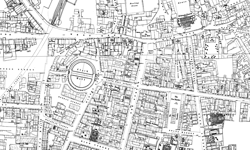 File:1851 map of the Cloth Hall.png