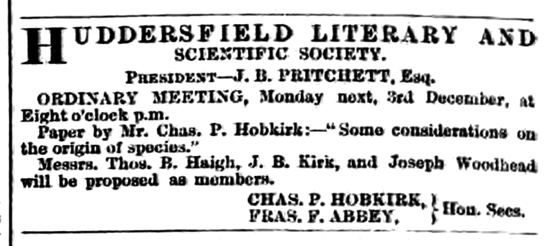 File:Huddersfield Chronicle 01 December 1866 - Public Notices.png