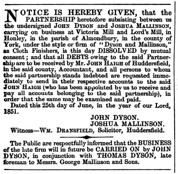 File:Huddersfield Chronicle 5 July 1851 - Legal Notices.png