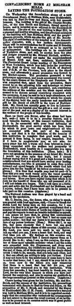 File:Leeds Mercury 31 Oct 1868 - Convalescent Home at Meltham Mills.png