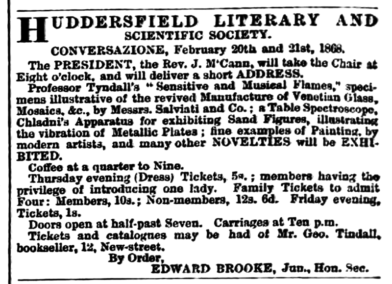 File:Huddersfield Chronicle 15 February 1868 Huddersfield Literary and Scientific Society.png