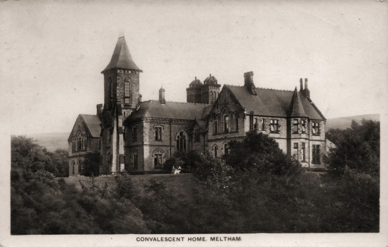 File:Undated photo postcard of Meltham Mills Convalescent Home (001).jpg