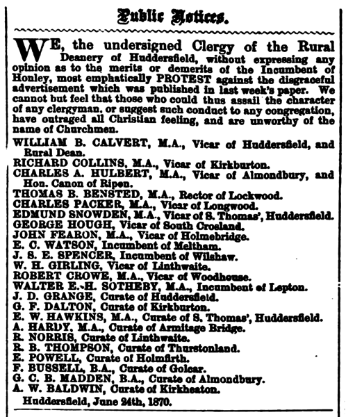 File:Huddersfield Chronicle 25 Jun 1870 - Public Notices.png