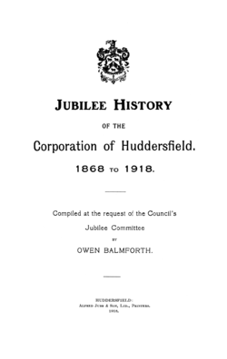 Title page of Jubilee History of the Corporation of Huddersfield.png