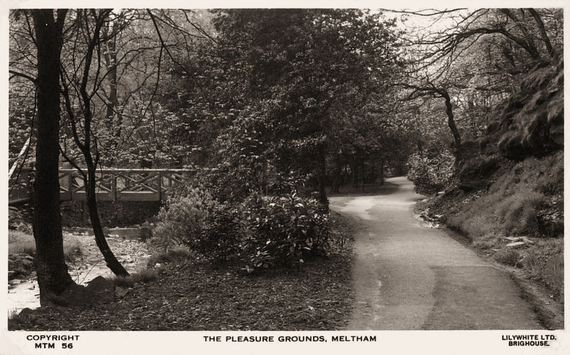 File:Undated postcard of The Pleasure Grounds, Meltham.jpg