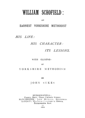 William Schofield - An Earnest Yorkshire Methodist (1882) by John Sykes.png