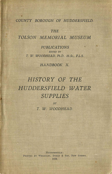 File:Front cover of History of the Huddersfield Water Supplies (1939) by T.W. Woodhead.jpg