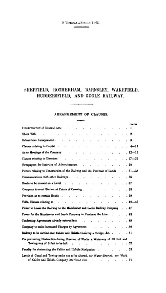 File:Sheffield, Rotherham, Barnsley, Wakefield, Huddersfield and Goole Railway Act of 1846.pdf