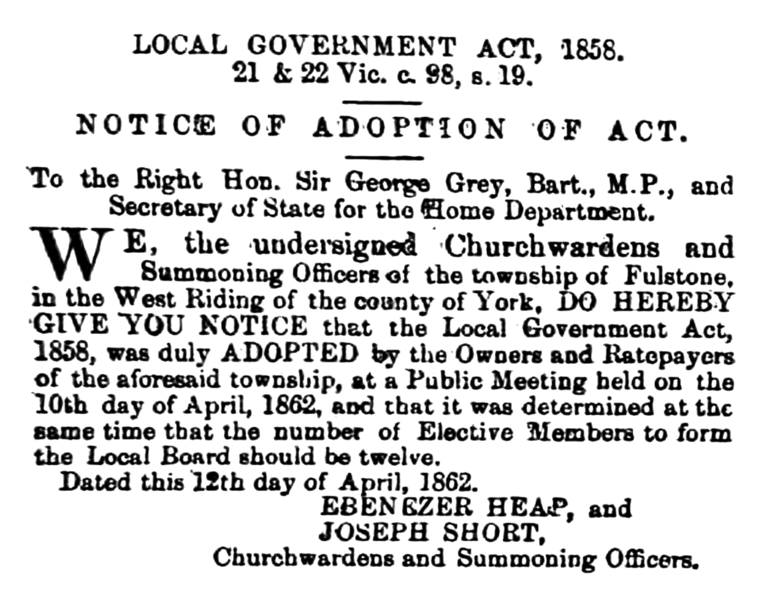 File:Fulstone - Huddersfield Chronicle 03 May 1862.png