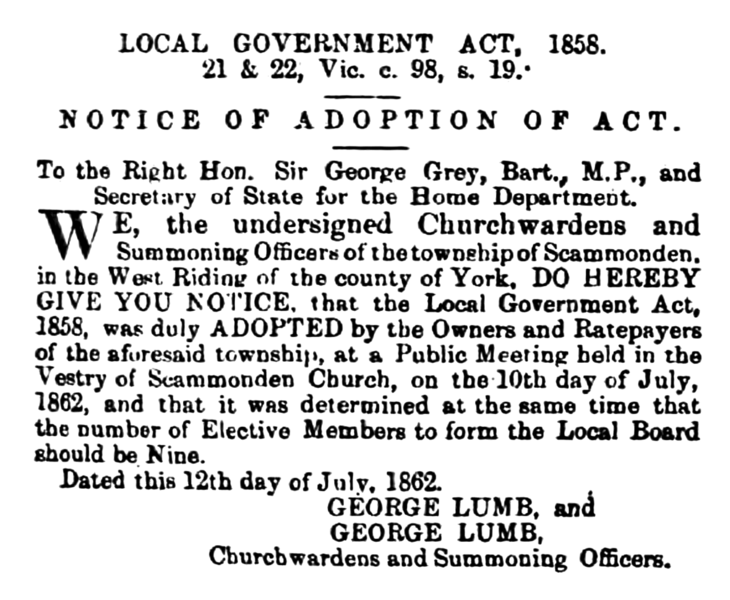 File:Scammonden - Huddersfield Chronicle 19 July 1862.png