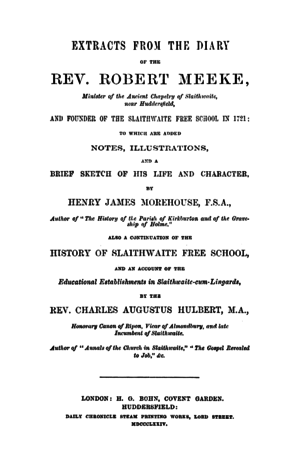 Extracts from the Diary of the Rev. Robert Meeke (1874) by Henry James Moorhouse & Charles Augustus Hulbert.png