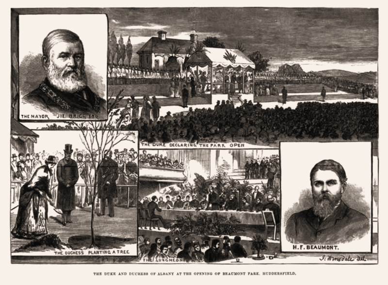 File:Beaumont Park, Illustrated London News 20 Oct 1883.png