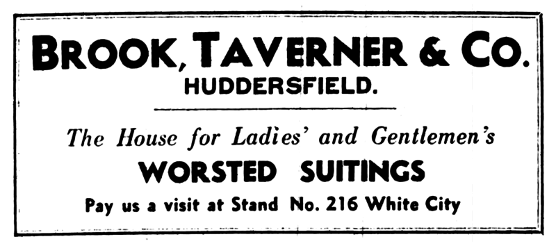 File:Brook Taverner and Co - Yorkshire Post 20 February 1934.png