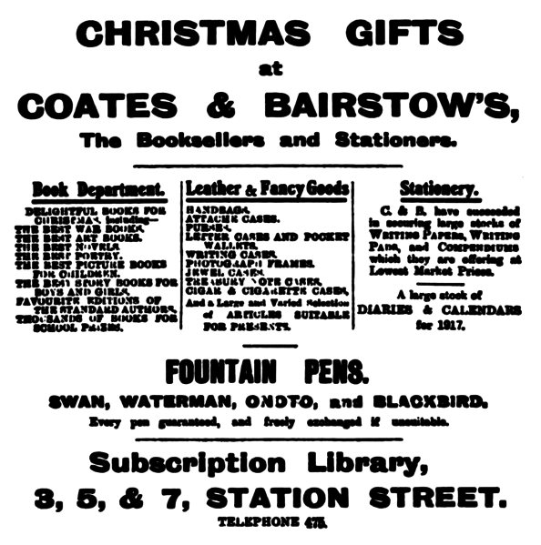 File:Coates and Baritow - Huddersfield Daily Examiner 13 December 1916.png